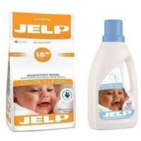 Płyny do prania, JELP Proszek Color Classic 4kg + GRATIS: Jelp płyn Delicate 1l Promocja