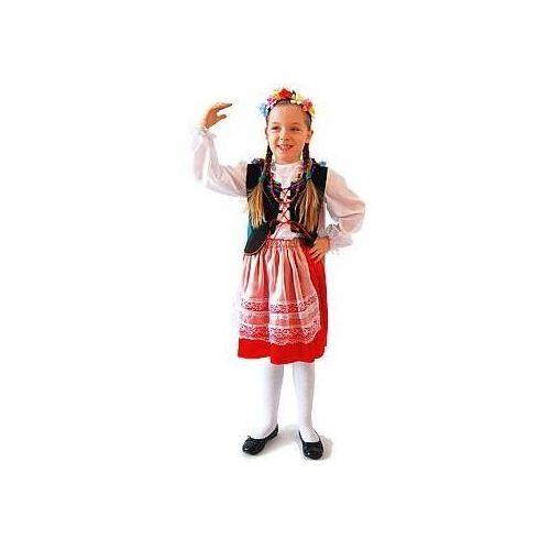 Przebrania dziecięce, Kostium Krakowianka - S - 110/116 cm