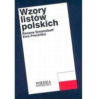Książki do nauki języka, Wzory listów polskich - Wysyłka od 3,99 - porównuj ceny z wysyłką (opr. broszurowa)