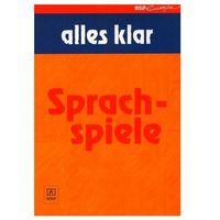 Książki do nauki języka, Alles Klar Sprachspiele - książka (opr. broszurowa)
