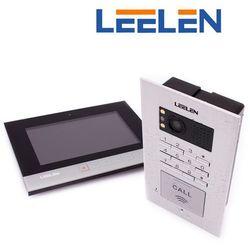 Leelen LEELEN Wideodomofon 7cali N75B/No18pc+3xbrelok (z czytnikiem) N75B_No18pc - Autoryzowany partner Leelen, Automatyczne rabaty.