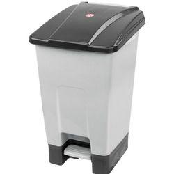 Kosz na śmieci otwierany przyciskiem pedałowym 70 L czarny Kosz na odpady medyczne, Kosz do szpitala