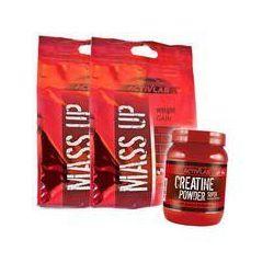 Zestaw ACTIVLAB Mass Up 10000g + Creatine Powder 500g WSZYSTKIE SMAKI Najlepszy produkt Najlepszy produkt tylko u nas!