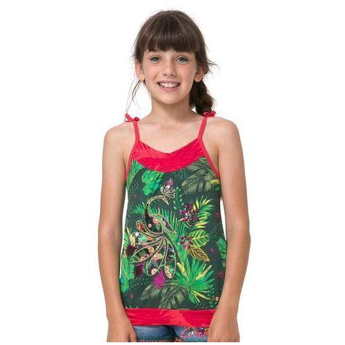 Podkoszulki dziecięce, Desigual podkoszulek dziewczęcy Hakunamatata 152 wielokolorowy - BEZPŁATNY ODBIÓR: WROCŁAW!