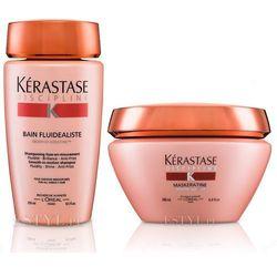 Kerastase Fluidealiste   zestaw dyscyplinujący włosy: szampon 250ml + maska 200ml