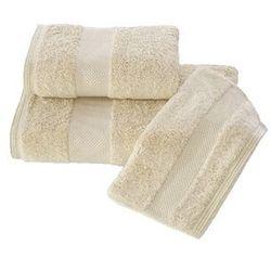 Luksusowy mały ręcznik DELUXE 32x50cm z Modalu Jasnobeżowy