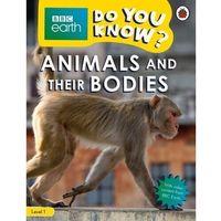 Książki do nauki języka, BBC Earth Do You Know? Animals and Their Bodies. Level 1 - książka