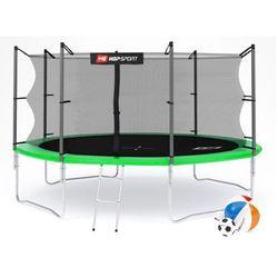 Trampolina Hop-Sport 14ft (427cm) z siatką wewnętrzną