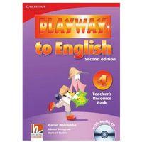 Książki do nauki języka, Playway to English 4 2nd Edition Teacher's Resource Pack + CD (opr. miękka)