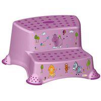 Podesty dla dzieci, OKT Podest dwustopniowy Hippo, fioletowy - BEZPŁATNY ODBIÓR: WROCŁAW!