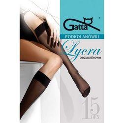 Podkolanówki Gatta Lycra 15 den A'2 ROZMIAR: uniwersalny, KOLOR: beżowy/playa, Gatta