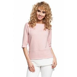 Bluzka Model MOE290 Powder Pink