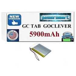 BATERIA AKUMULATOR DO TABLETU GOCLEVER I INNE 3,5X90X110MM 5900mAh promocja!