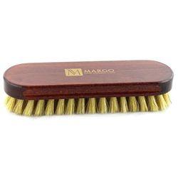 Margo, szczotka do polerowania, 16,5 cm, 100% szczecina, drewno bukowe barwione na mahoń