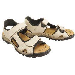 RIEKER 25084-60 beige, sandały męskie