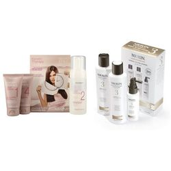 Alfaparf Keratin Therapy Smoothing Treatment Kit and System 3 | Zestaw do włosów pusząych się, które potrzebuja wygładzenia i zestaw do włosów przerzedzonych i nadmiernie wypadających.