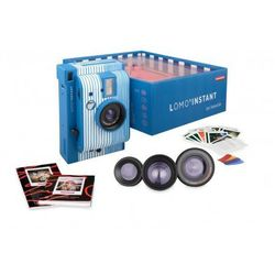 Lomography aparat Lomo'Instant San Sebastian typu Polaroid na wkłady Instax Mini