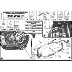 Kappa KN369 Gmole Honda Cbf 600S- Cbf 600N (04-07)
