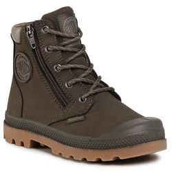 Trapery PALLADIUM - Pampa Hi Cuff Wp 53476-213-M Major Brown