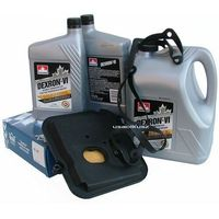 Oleje przekładniowe, Filtr oraz olej Dextron-VI automatycznej skrzyni biegów 42RL Dodge Dakota 2005-