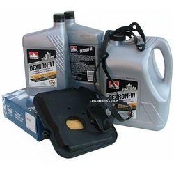Filtr oraz olej Dextron-VI automatycznej skrzyni biegów 42RL Dodge Dakota 2005-