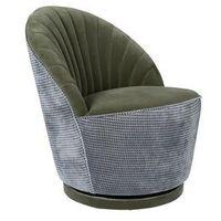 Fotele i krzesła biurowe, Dutchbone Fotel MADISON OLIVE 3100113