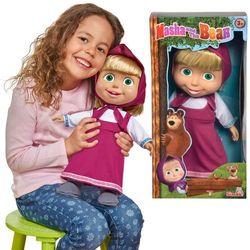 Simba Masza i Niedźwiedź miękka lalka 40 cm