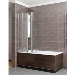 Radaway EOS PNW4 parawan nawannowy wys. 152 cm. szkło przejrzyste 205401-101