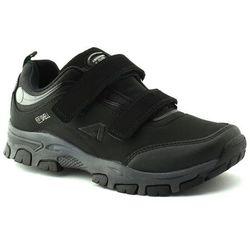 Buty sportowe dla dzieci American Club WT10/20 Czarne - Czarny