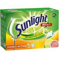 Pozostałe do mycia naczyń, Unilever SUNLIGHT Tabletki do zmywarki (668180) Darmowy odbiór w 20 miastach!