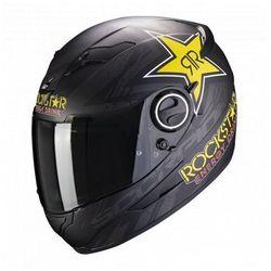 Scorpion kask integralny exo-490 rockstar bk-ye-re