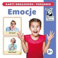 Hobby i poradniki, Kapitan Nauka Emocje karty obrazkowe + poradnik - książka (opr. kartonowa)