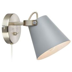 Kinkiet LAMPA ścienna TRIBE 107396 Markslojd regulowana OPRAWA metalowa szara