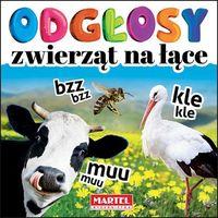 Książki dla dzieci, Odgłosy zwierząt na łące (opr. kartonowa)
