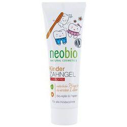 Pasta / żel do mycia zębów DLA DZIECI, bez fluoru JABŁKO i PAPAJA 50 ml Neobio