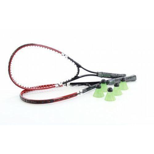 Badminton i speedminton, SPEED BADMINTON szybki badminton zestaw: 2 rakiety 5 lotek i torba
