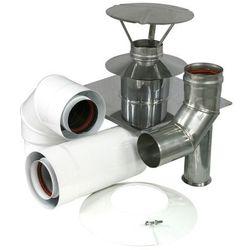 Zestaw przyłączeniowy Spiroflex do szachtu kominowego 80/125 mm