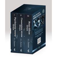 Literatura kobieca, obyczajowa, romanse, Pięćdziesiąt twarzy Greya / Ciemniejsza strona Greya / Nowe oblicze Greya (opr. miękka)