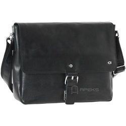 Daag Jazzy Party 54 torba skórzana na ramię / czarna