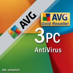 AVG Antivirus PL 2018 3 PC/ 2 Lata