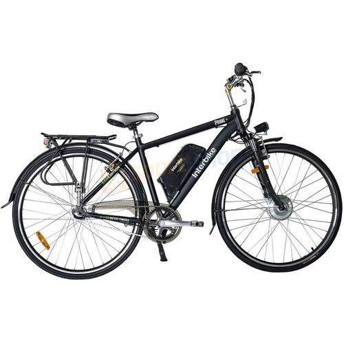 """Pozostałe rowery, Rower elektryczny Prime 28"""" Interbike (czarny) Dostawa GRATIS!"""