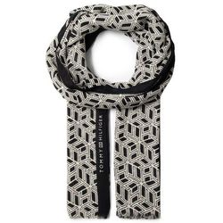 Szal TOMMY HILFIGER - Outline Monogram Scarf AW0AW08239 C7H