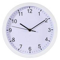 Zegary, HAMA zegar naścienny Pure 25 cm biały