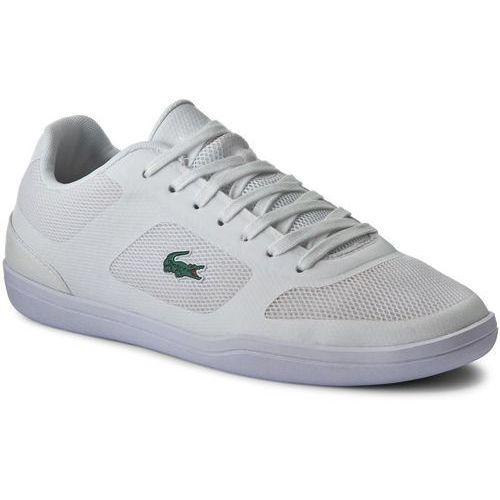 Półbuty męskie, Sneakersy LACOSTE - Court Minimal Sport 316 1 SPM 7-32SPM0004001 Wht