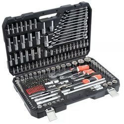 Zestaw narzędzi Yato 1/2 1/4 i 3/8 216 szt.