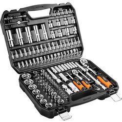 Zestaw kluczy nasadowych NEO 08-666 1/2 i 1/4 cala (110 elementów) + DARMOWY TRANSPORT!