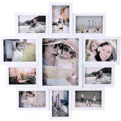 Ramka na 11 zdjęć, zdjęcia - multirama 61 x 61 x 2 cm