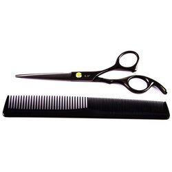 """Fox black rose czarne nożyczki fryzjerskie 6.0"""" zestaw z akcesoriami"""