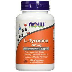 NOW FOODS L-Tyrosine 500mg - 120 kapsułek