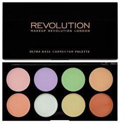 Makeup Revolution Ultra Base Corrector Palette Zestaw korektorów (8 odcieni) 13g
